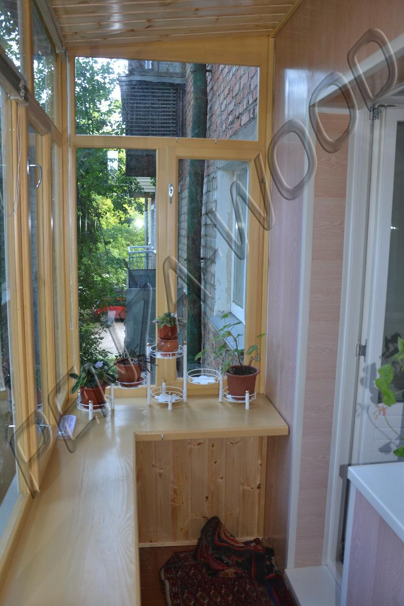 Галерея балконные рамы из массива дерева пенза-wood.