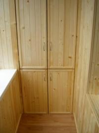 7 Шкаф дер на балконе
